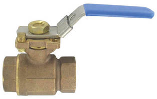 Bronze Ball Valve features ISO mounting pad.