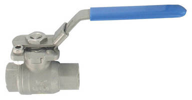 Stainless Steel Ball Valve features ISO-rated mounting pad.