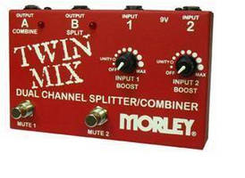 Splitter/Combiner combines selector switch and mini mixer.