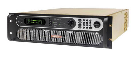 Programmable DC Power Supplies range from 4-15 kW.