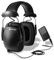 Stereo Earmuffs combine hearing protection with Hi-Fi sound.
