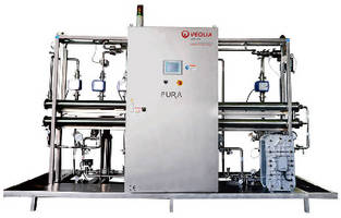 Water Generation Systems target pharmaceutical industry.