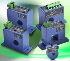 Current Sensing Line Expands with Ground Fault Sensors and DC Current Transducers and Switches