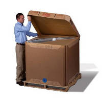 Bulk Liquid Tote Liners work with any corrugated IBC tote.