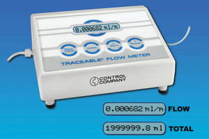 Ultra-low Flow Meter offers ±2-4% FS accuracy.