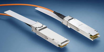 Active Optical Cable Assemblies operate up to 10 Gbps/lane.