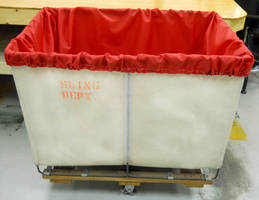 Nylon Laundry Cart Liners create sanitary barrier.