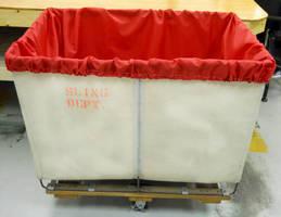 Nylon Laundry Cart Liners create sanitary barrier.