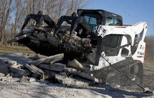 Compact Track Loader combines maneuverability and power.