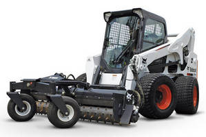 All-Wheel Steer Loader can be used in various working conditions.