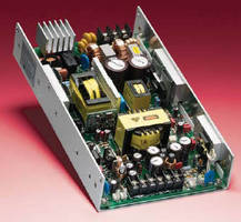 Switch Mode DC Power Supplies deliver 300 Watts.