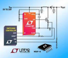N-Channel MOSFET Gate Driver operates from -55 to +125°C.