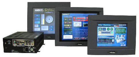 Touchscreen Workstations feature industrial-hardened design.