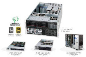 Multi-Processor Servers suit mission critical applications.