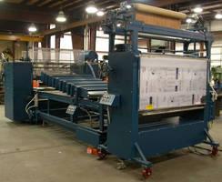 Veneer/Vinyl Laminating System handles various materials.