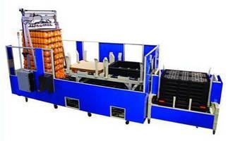 Modular Palletizer meets needs of bottle manufacturers.