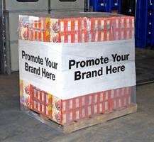 Stretch Wrap Film builds brand awareness.