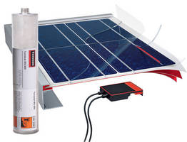 Hot Melt Adhesive/Sealant allows immediate solar module handling.