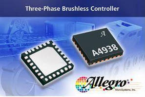 Brushless DC Motor Pre-Driver includes 3 Hall element inputs.