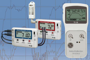 Temperature/Humidity Data Loggers feature IR communication.