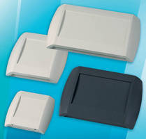 Wall-Mount Plastic Enclosures protect electrical equipment.