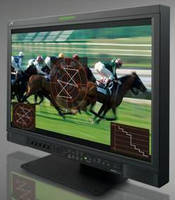 Broadcast LCD Monitor is optimized for picture clarity.