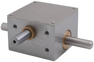 Miniature Right Angle Gearboxes come in worm, helical types.