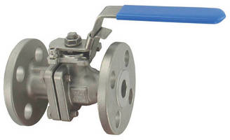 Two-Piece Ball Valve is constructed of 316 SS material.