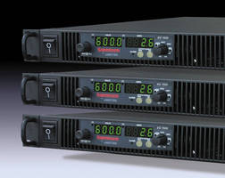 Programmable DC Power Supply incorporates energy saving features.
