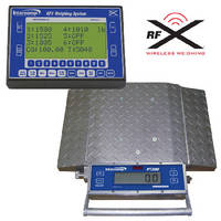 Portable Wheel Load Scale supports wireless weighing.