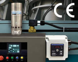 CE-Compliant Temperature Control minimizes compressed air use.