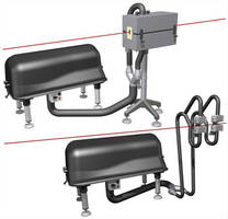 Drying System is used on water-cooled extruded products,.