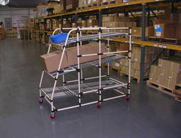 Mobile Flow Rack suits assembly and warehouse operations.