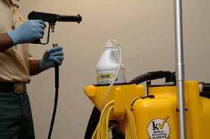Restroom Cleaning Test Proves the Effectiveness of Water-Only Cleaning