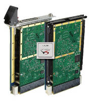 VPX Boards pair configurable Virtex-5 FPGA with PCIe interface.
