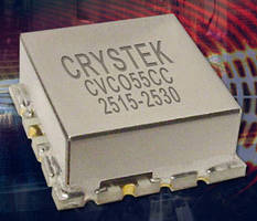 Voltage Controlled Oscillator operates from 2,515-2,530 MHz.