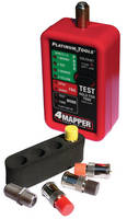 Coax Cable Tester tracks up to 4 connections.