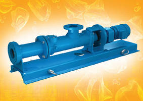 Close-Coupled Pumps transfer viscous fluids and solids.