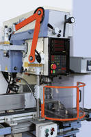 Machine Shields protect milling operators from chips, coolant.