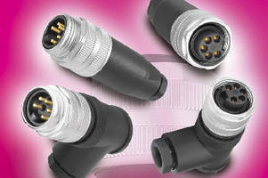 Screw Clamp Power Connectors accept large wires.