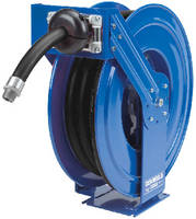 Diesel Exhaust Fluid Hose Reels feature all steel construction.
