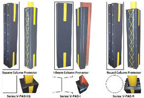 Structural Column Pads protect personnel from workplace injury.