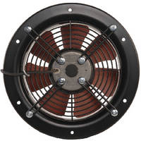 Motorized Ring Fans suit limited space applications.
