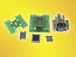 Triple Stacked BGA Socket tests processor, memory, and memory probe.