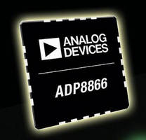 Programmable LED Driver controls up to 9 LED current sinks.