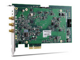 PCI Express Digitizer supports 200 MS/s sampling rate.
