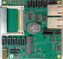 Computer Baseboard supports rugged mobile I/O applications.