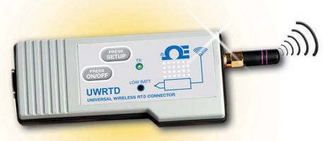 RTD-to-Wireless Connector/Converter UWRTD