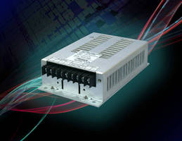 Ruggedized, 50 W DC/DC Converter suits industrial applications.