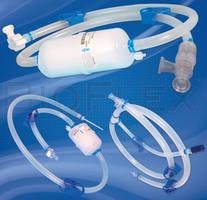 Fluid Path Assemblies comprise single-use tubing, filters.